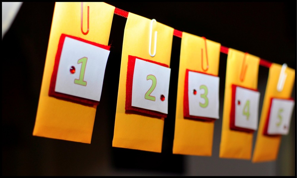 Easy Advent Calendar
