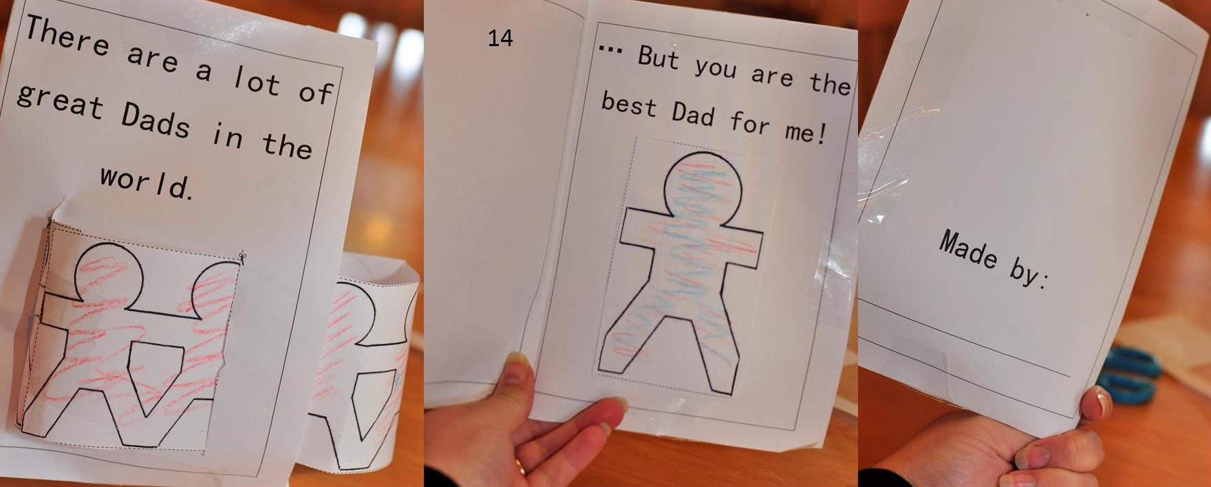 father's day : the best dad for me