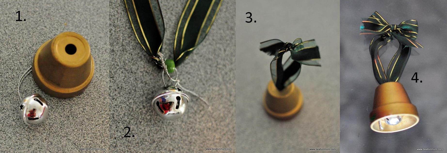 Mini Terracotta Pot Bell | Be A Fun Mum