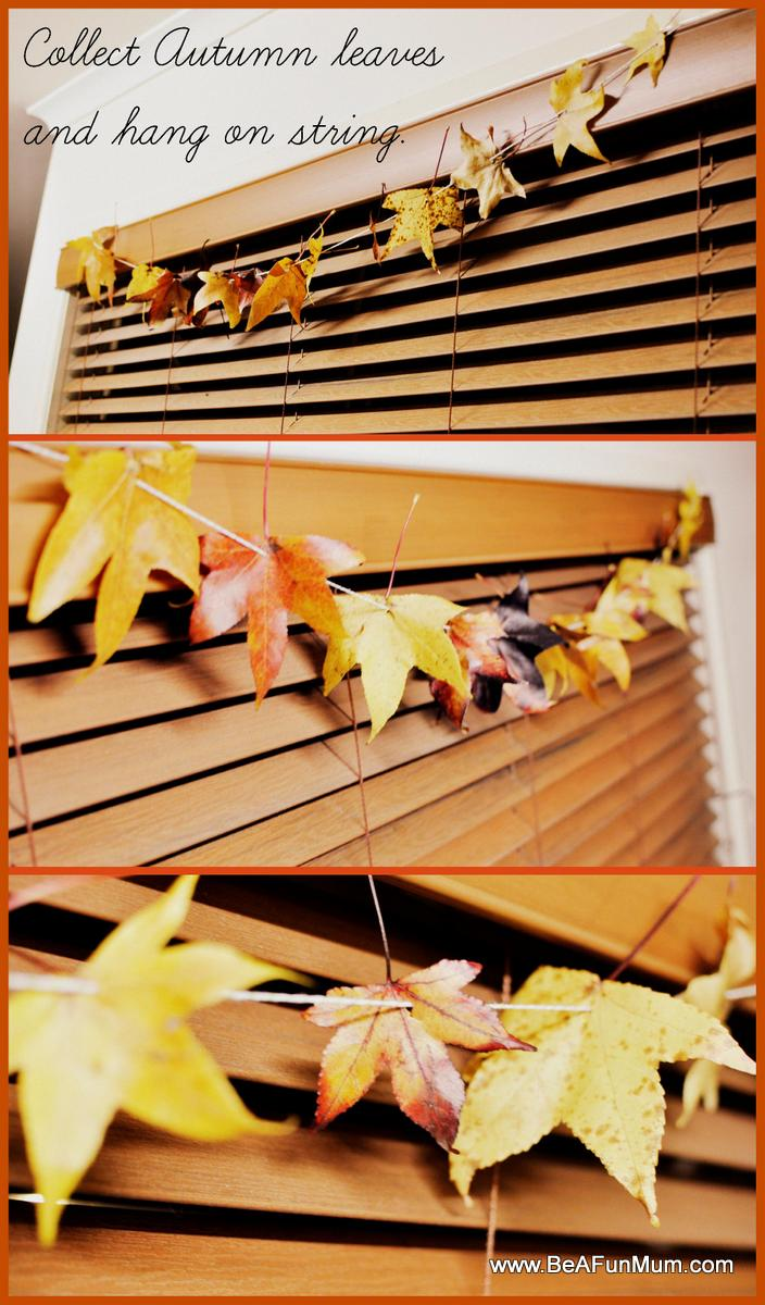 autumn leaves craft