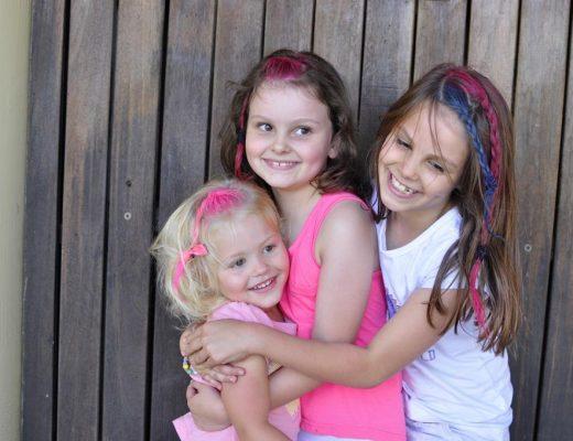 colour hair - fun for kids