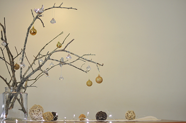 Table Decoration Stick Christmas Tree Be A Fun Mum