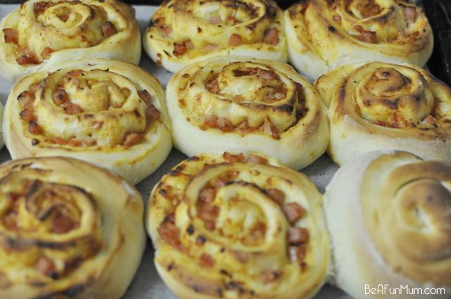 pizza scrolls recipe - thermomix