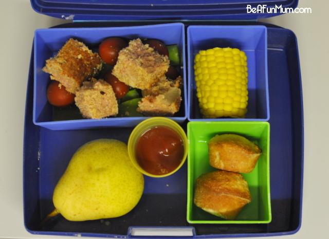 lunch box ideas - coconut bread