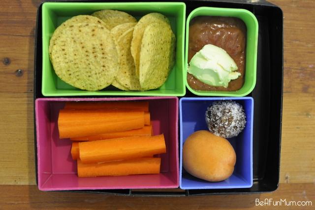 lunch box ideas - nachos
