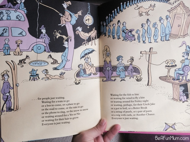 Waiting from Oh! The Places You'll Go by Dr Seuss