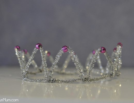 Pipe Cleaner Crown - Very Easy!