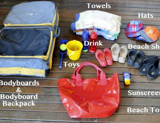 Staple Items to Take to the beach