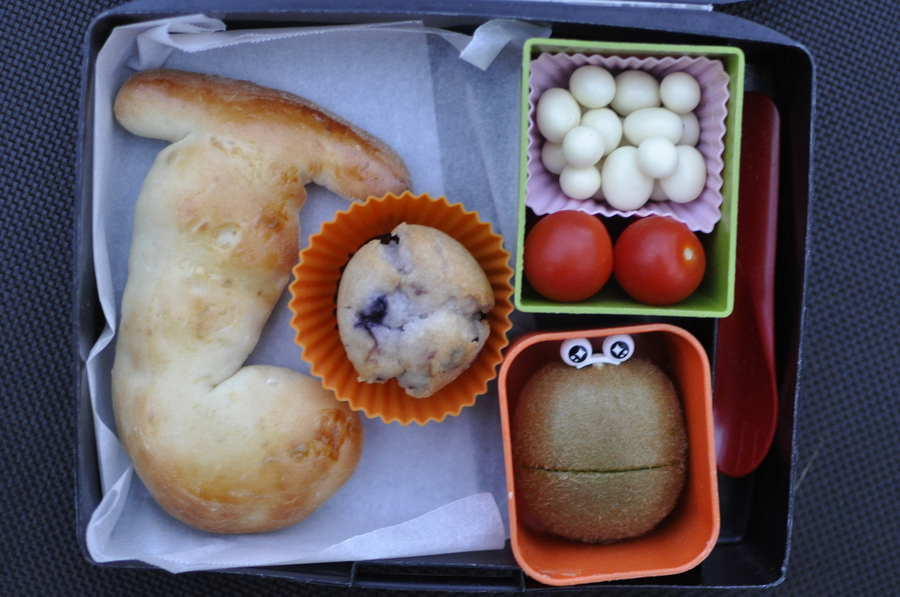 Bread shapes for the lunch box