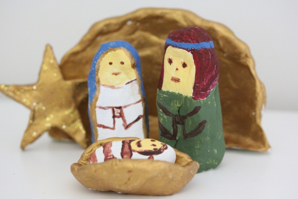 Diy Clay Nativity Scene Be A Fun Mum