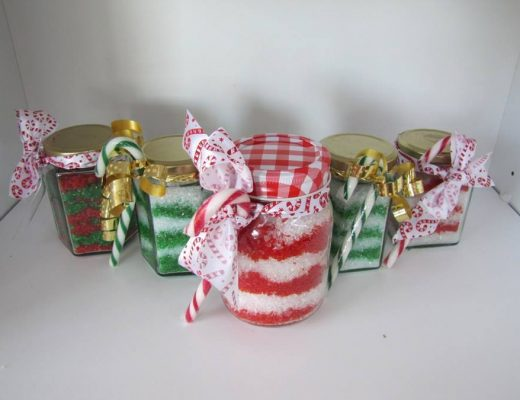 Peppermint Candy Cane Bath Salts