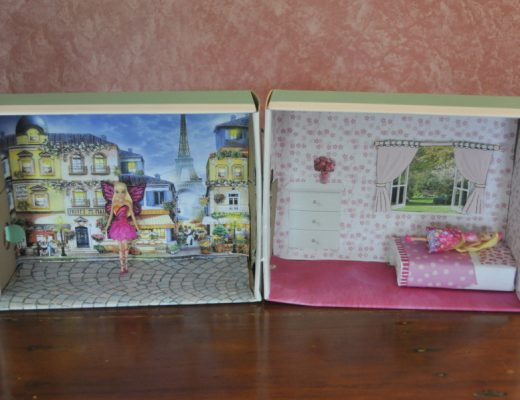 Shoebox Dollhouse