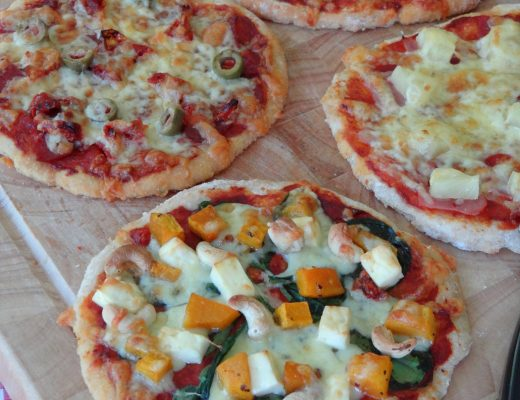 Wholemeal Pizza Bases