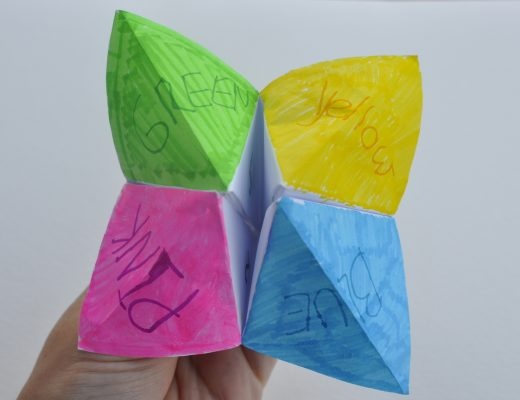 How to make a chatterbox - so much fun for kids