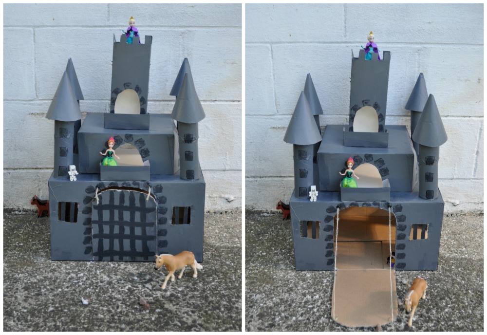 Box castle be a fun mum for Castle made out of cardboard