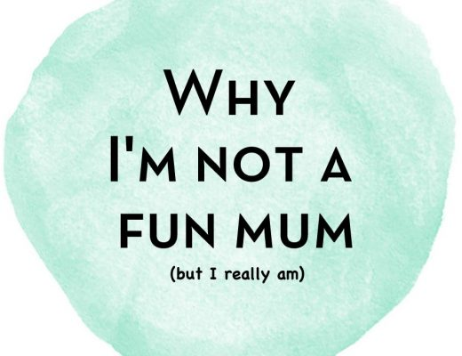 Why I'm not a Fun Mum
