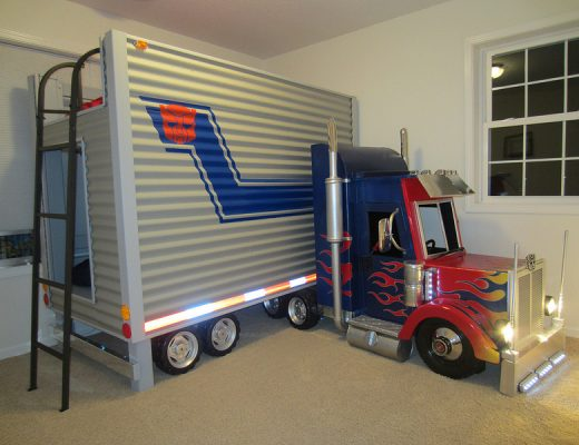 Optimus Prime Bed
