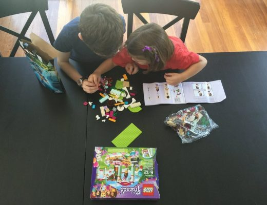 school holiday idea - playing with Lego