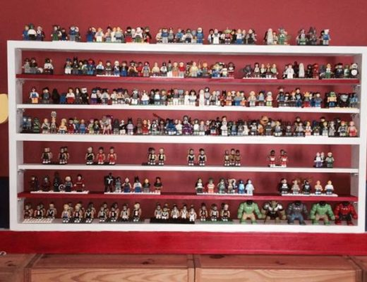 Lego Shelf Storage