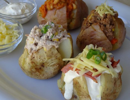 Simple Family Dinners - Baked Potato