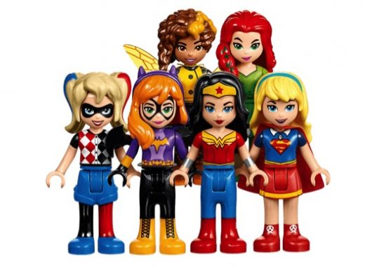 Girls Superhero Lego - Mini Figs