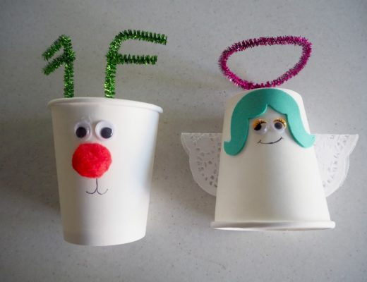 Christmas cup crafts