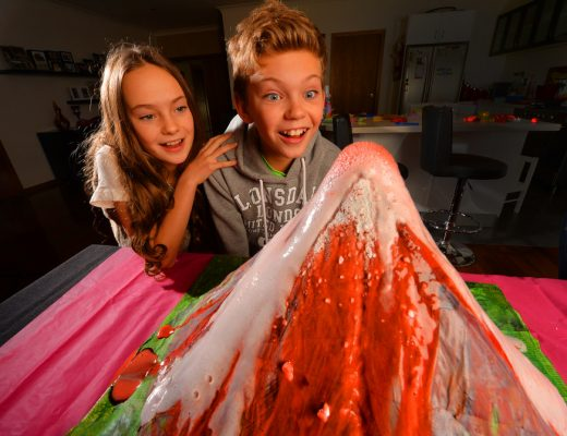 Erupting Volcano - Kids in the Kitchen