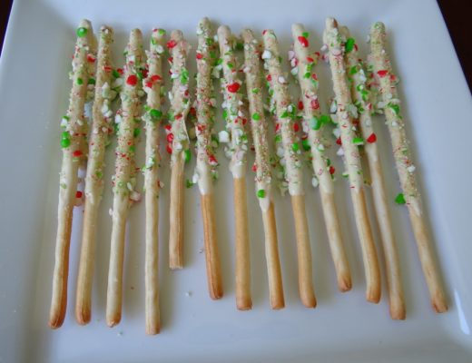 Christmas breadsticks