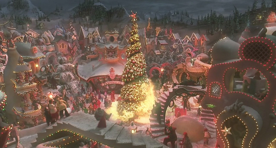 The Grinch Christmas Tree Movie.How The Grinch Stole Christmas 2000 09 Be A Fun Mum