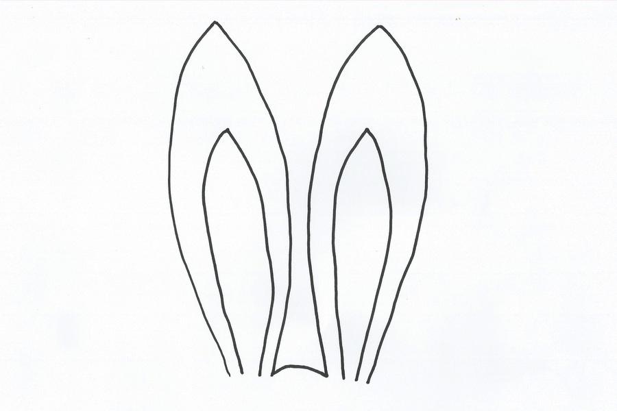 bunny ears template 003 be a fun mum