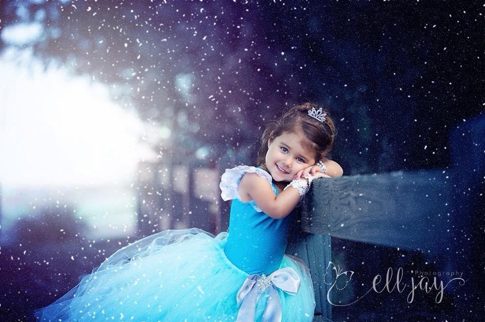 Elsa Inspired Dress Tutu