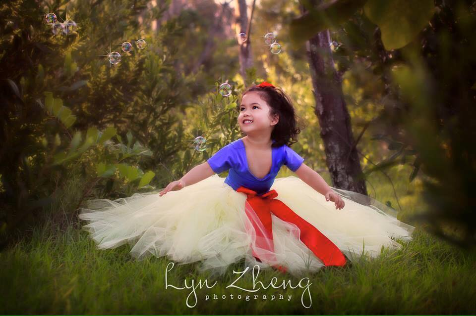 Snow White Inspired Tutu Dresses