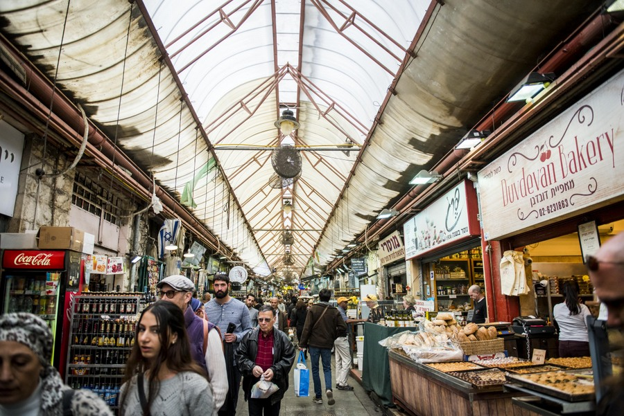 Markets in Jerusalem