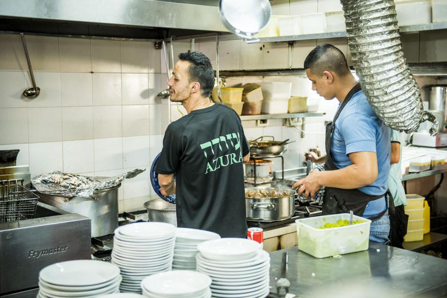 Azura Restaurant - Jerusalem, Israel
