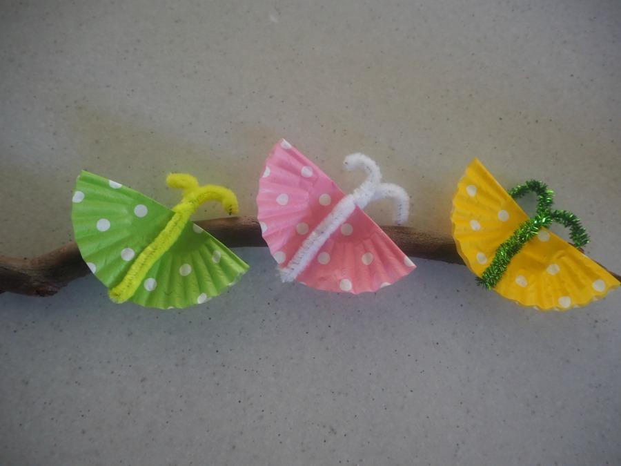 butterflies on a stick craft