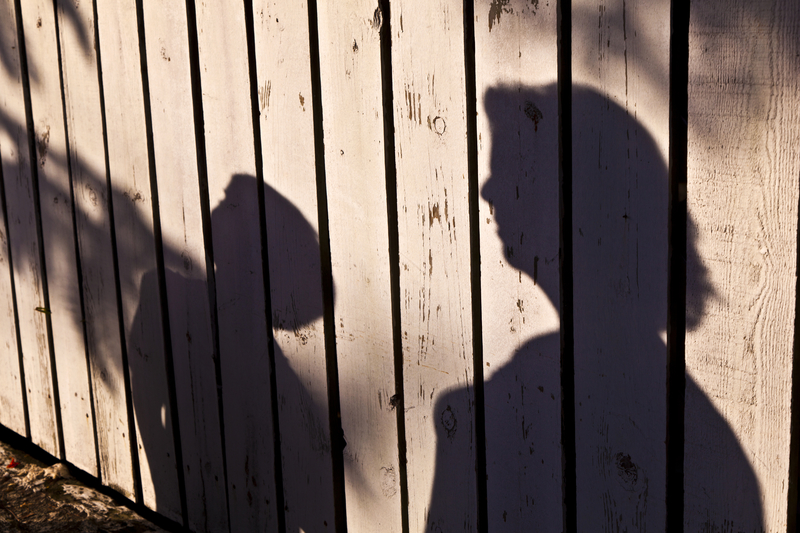 Mother and Son Shadow