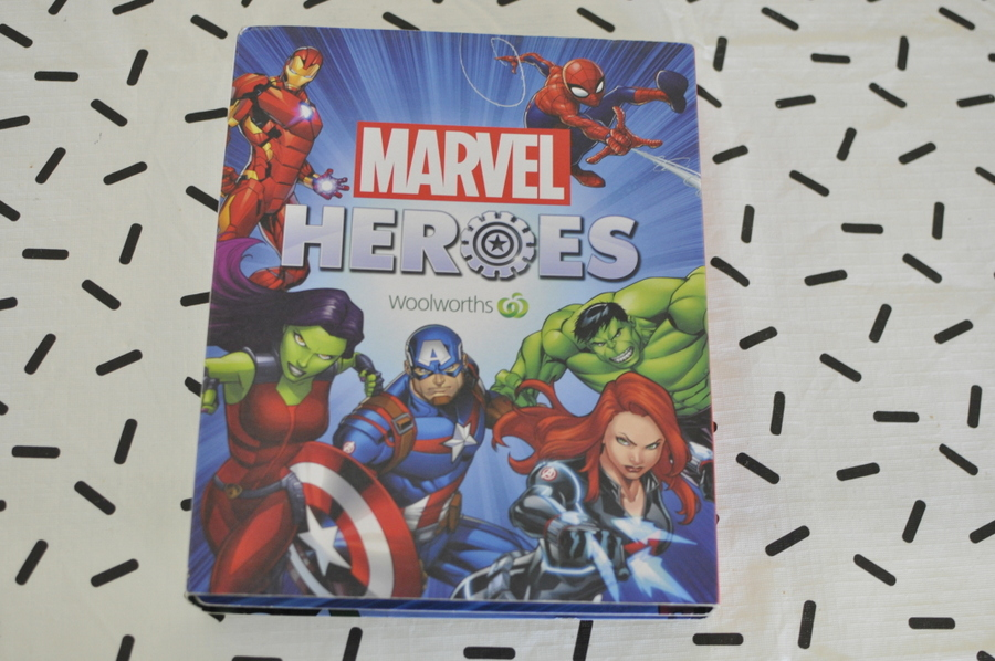 Marvel Heroes Super Discs - compelling the set