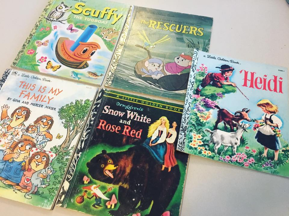 Favourite Childhood Golden Books