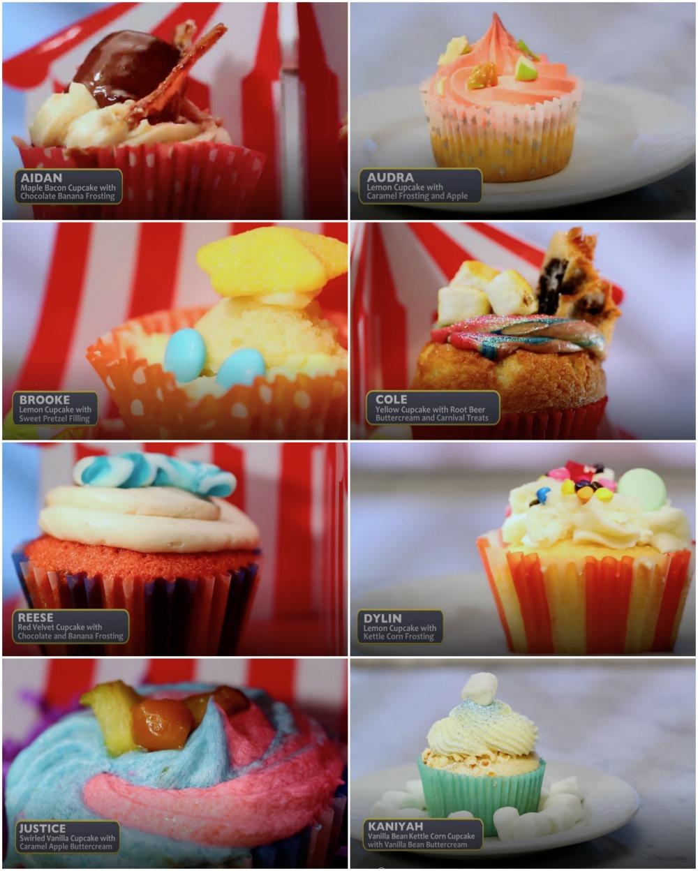 Kids Baking Championships - Carnival Cupcakes
