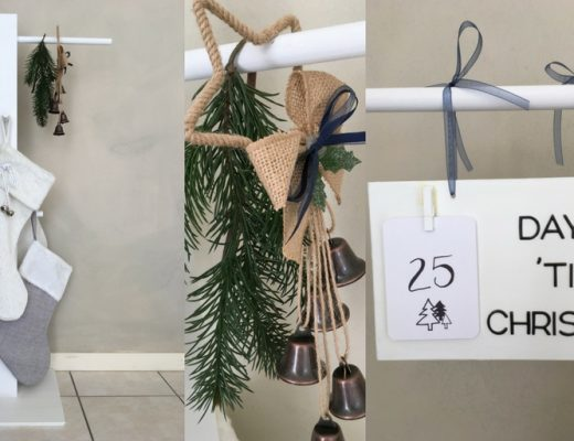 DIY Christmas Stocking Stand
