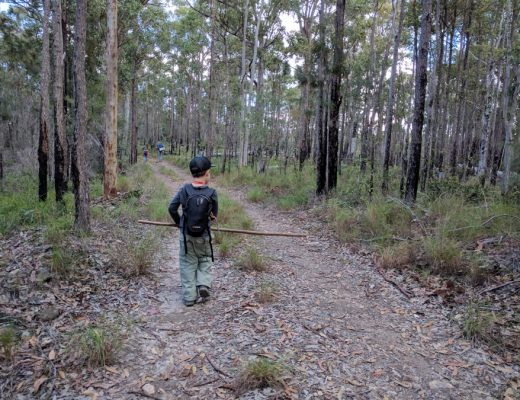 Tips for packing hiking gear for kids and keeping it light!