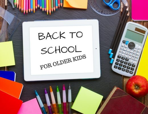 BACK TO SCHOOL FOR OLDER KIDS