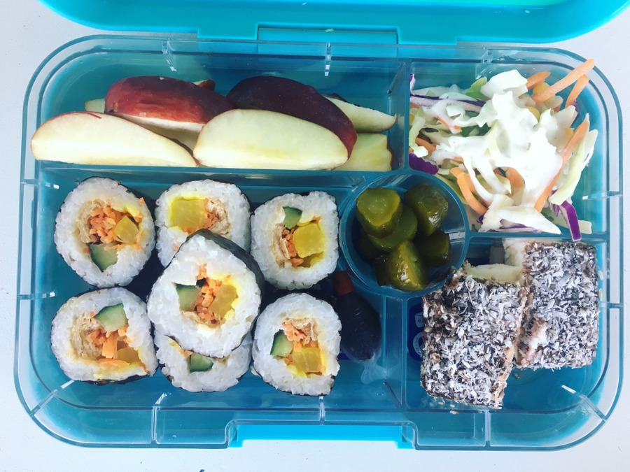 Yumbox Tapas Lunch Box inspiration