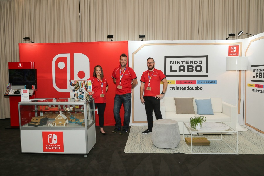 nintendo kids business