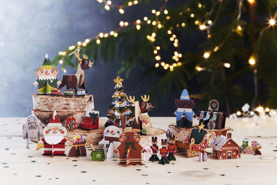 Woolworths Christmas Pop Up