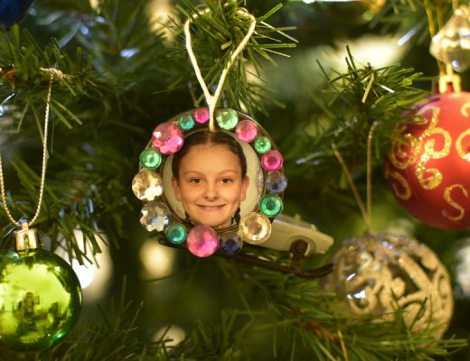 Photo Decoration for the Christmas Tree