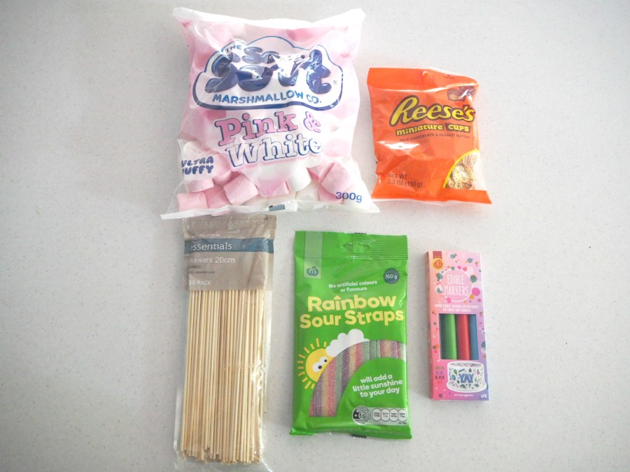 marshmallow snowman ingredients