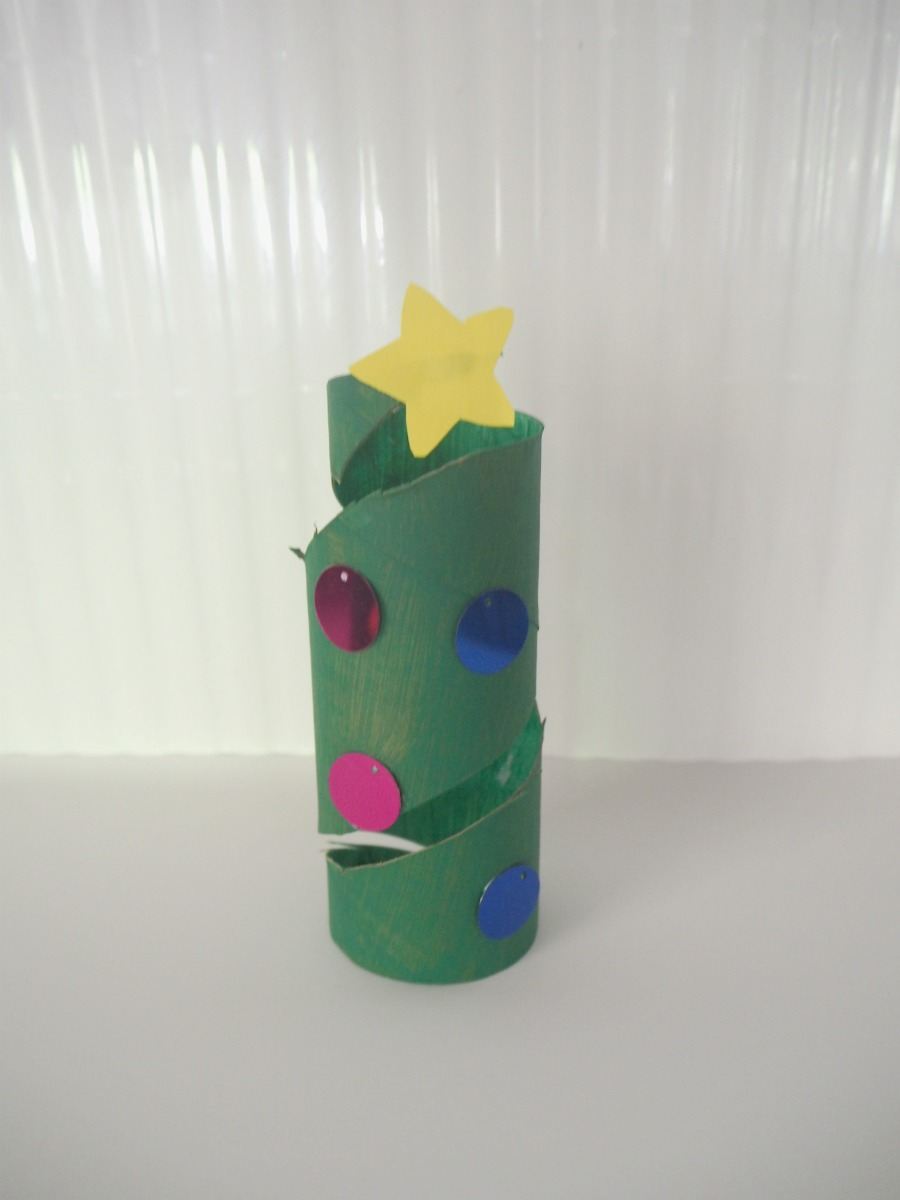 Toilet Roll Christmas Tree