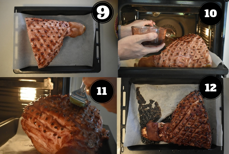 How to make glazed Ham