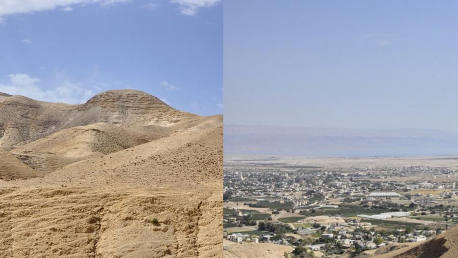 Jericho City in Palestine